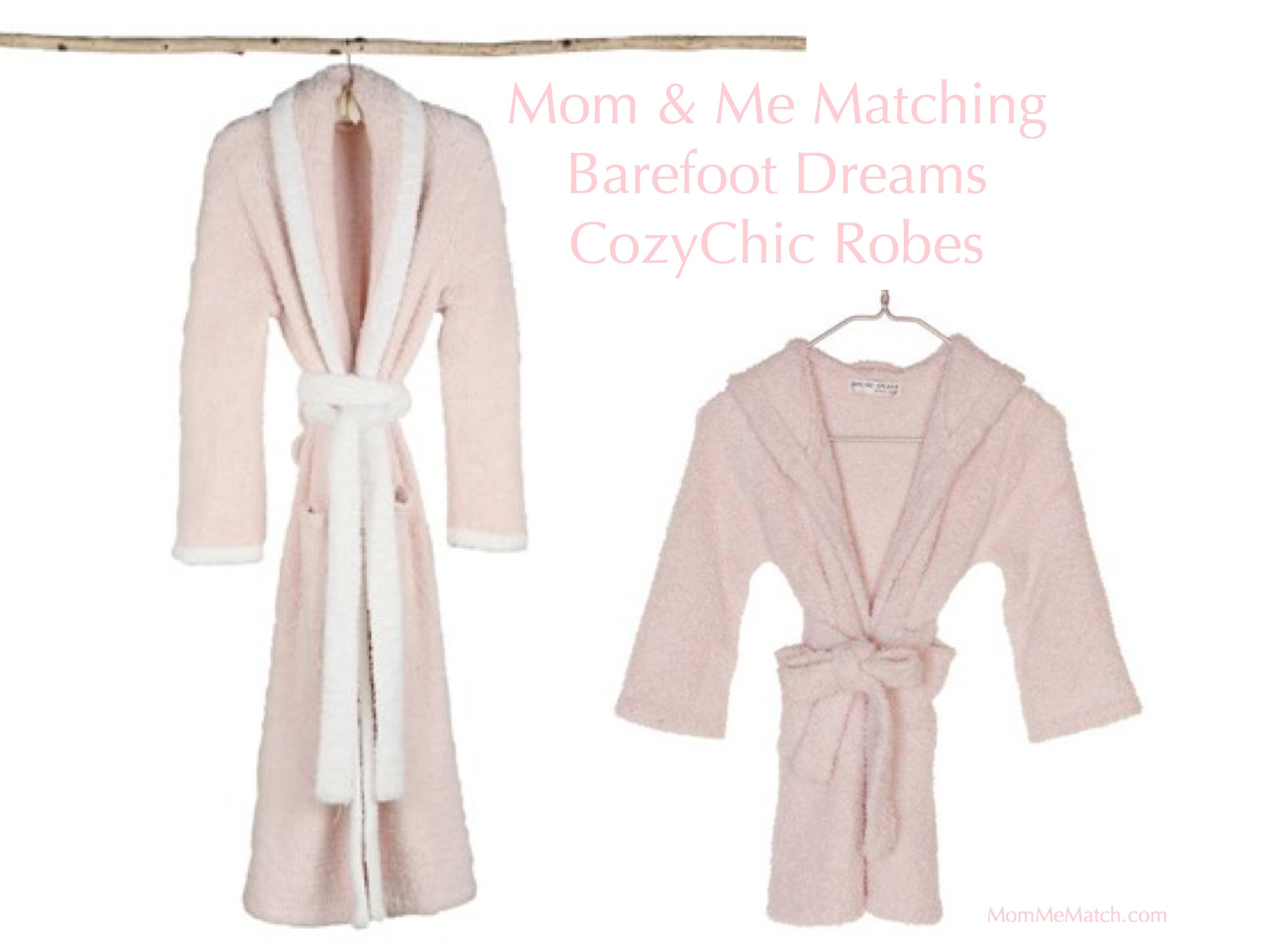 Mom & Me Matching Barefoot Dreams CozyChic Robes