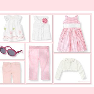 Janie & Jack Spring Collection Inspires Pretty in Pink Matching Outfits