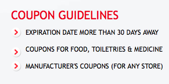 Coupons Help Coupon Guidelines