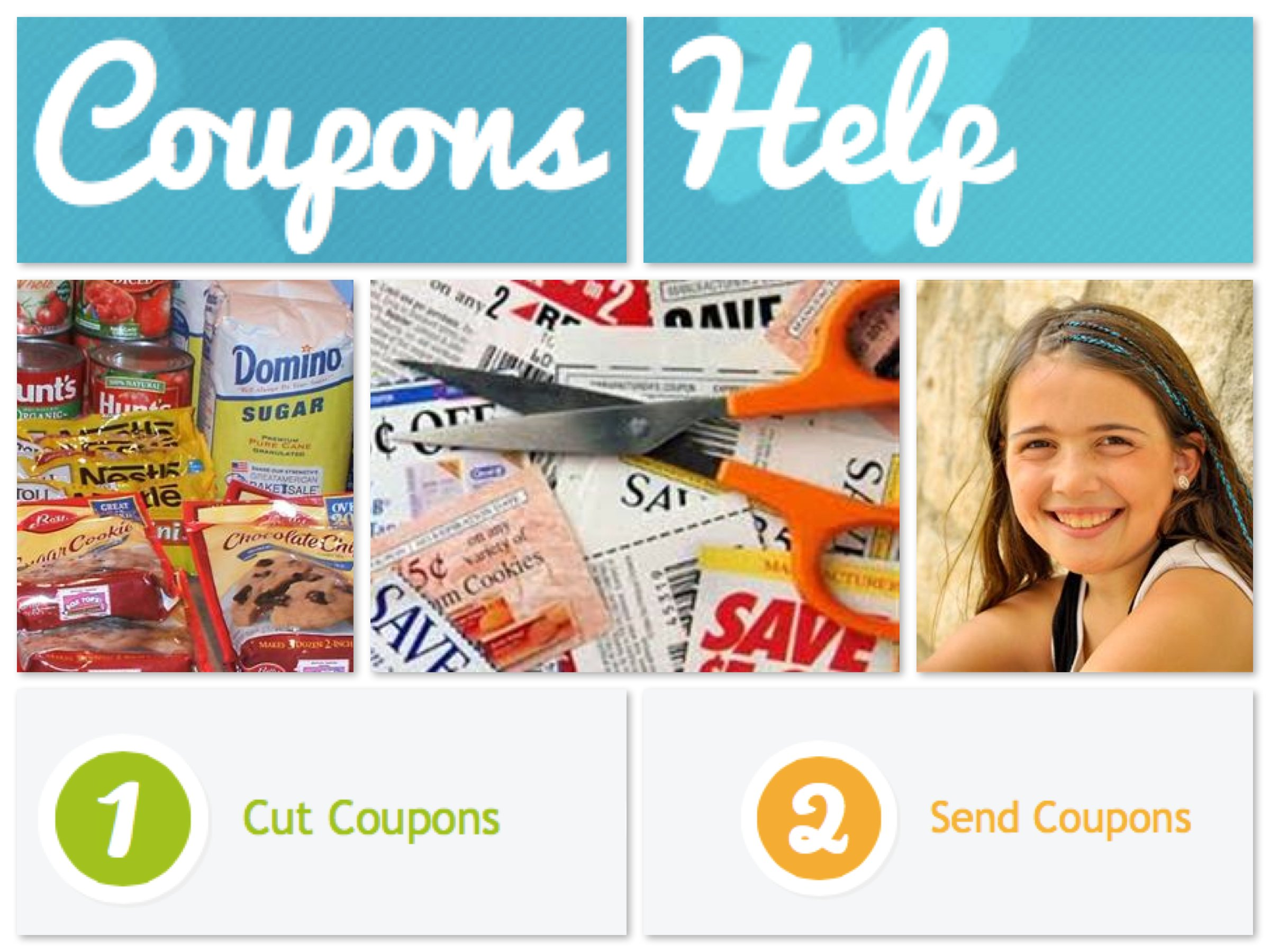 Best Mom & Me Service Project - Coupons Help!