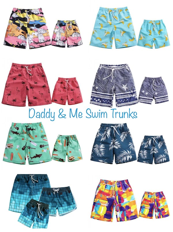 Daddy and Me Swim Trunks