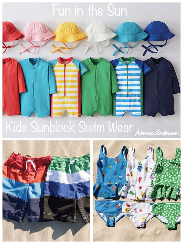 Fun in the Sun Kids Sunblock Swim Wear