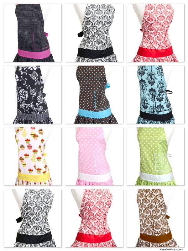 Women's Housewarming Gifts - Aprons & Cookbooks!