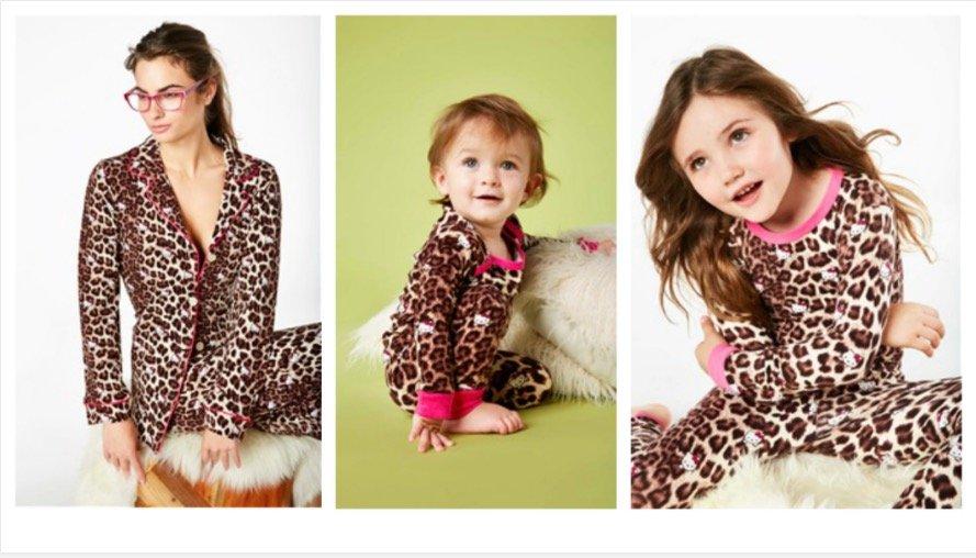 Mom & Me Animal Print Pajamas