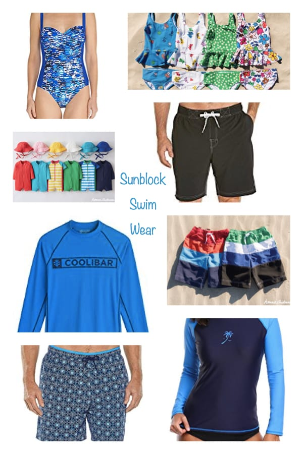 Mommy Daddy and Me Sunblock Swim Wear