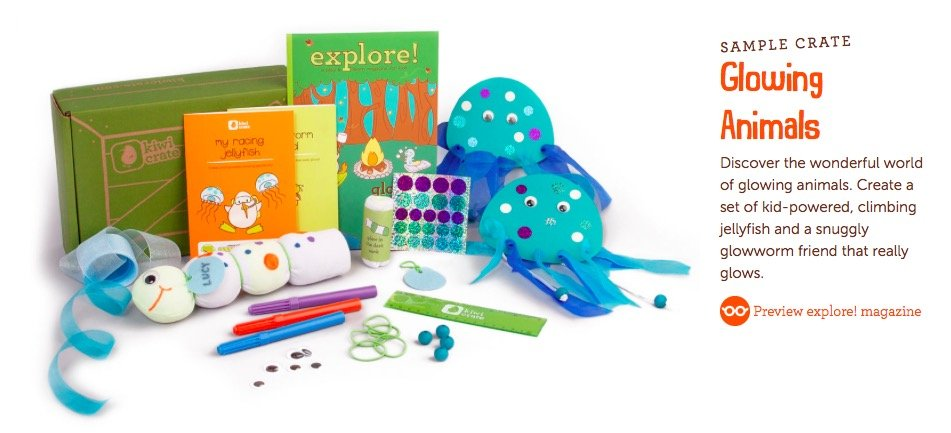 Mommy and Me Glowing Animals Craft Projects