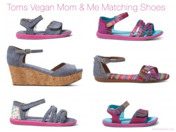Toms Vegan Mom & Me Matching Chambray Shoes