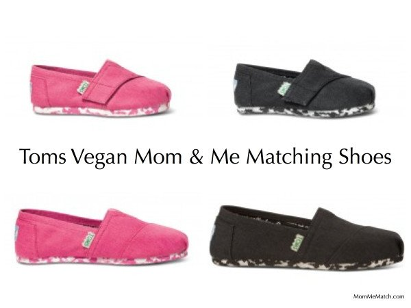 Toms Vegan Classic Mommy & Me Matching Shoes