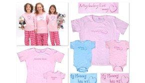 Mom & Me Love Heart Awesome Matching Shirts & Pajamas