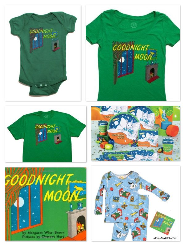 Mommy, Daddy & Me Matching Goodnight Moon Clothing