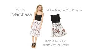 Mother Daughter Matching Marchesa Party Dresses, Born Free