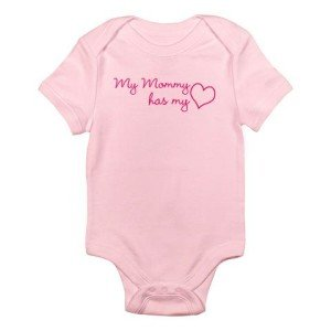 My mommy has my heart onesie