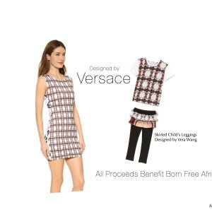 Versace Matching Mother & Daughter Outfits