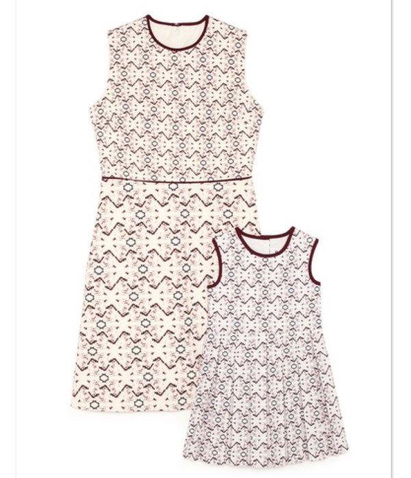 Victoria Beckham Mother & Daughter Dresses