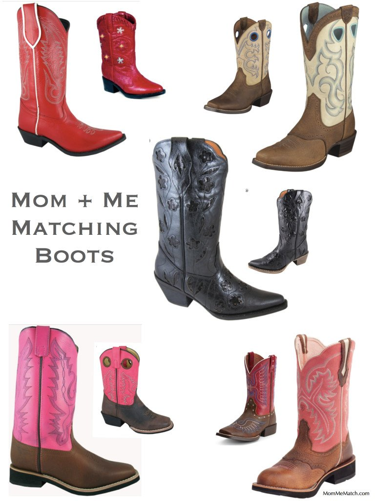Mother & Daughter Matching Boots