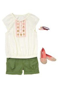 Back to School Girls Clothes Adventure Ready