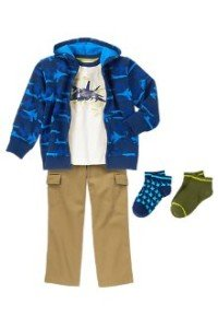 Back to School Boys Clothes Blue Sky Crew