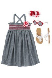 Back to School Girls Clothes Cafe Darling Sundress