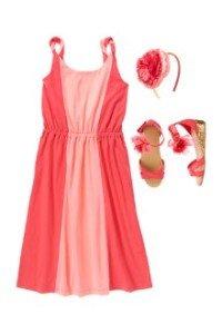 Back to School Girls Clothes Desert Rose