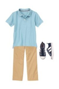 Back to School Boys Clothes Look Smart