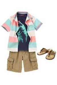 Back to School Boys Lounging Around Outfit