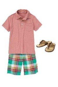 Back to School Boys Palm Desert Prep Shorts & Shirt