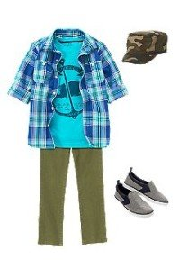 Back to School Boys Whale Club Outfit