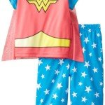 Wonder Woman Baby-Girls Infant 2 Piece Sleep Set, Celebrate Girl Power