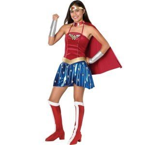 Wonder Woman Teen Costume, Celebrate Girl Power