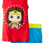 Wonderwoman Tank Top Pajama Set, Celebrate Girl Power