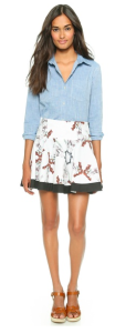 Born Free DKNY Skirt, Matching Mother Daughter DKNY Outfits