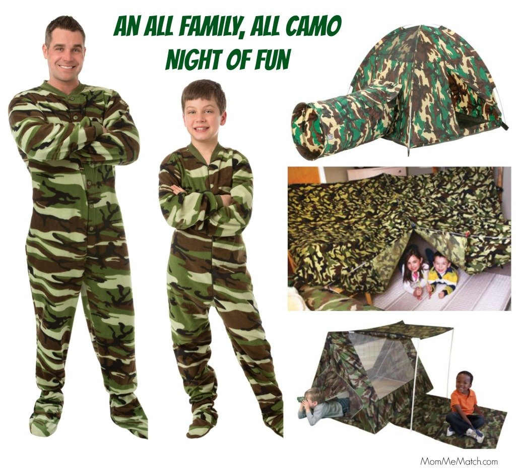 An All Family All Camo Night of Fun, Family Camouflage Night