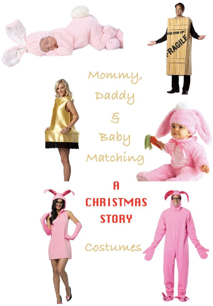 Mommy Daddy & Baby A Christmas Story Costumes
