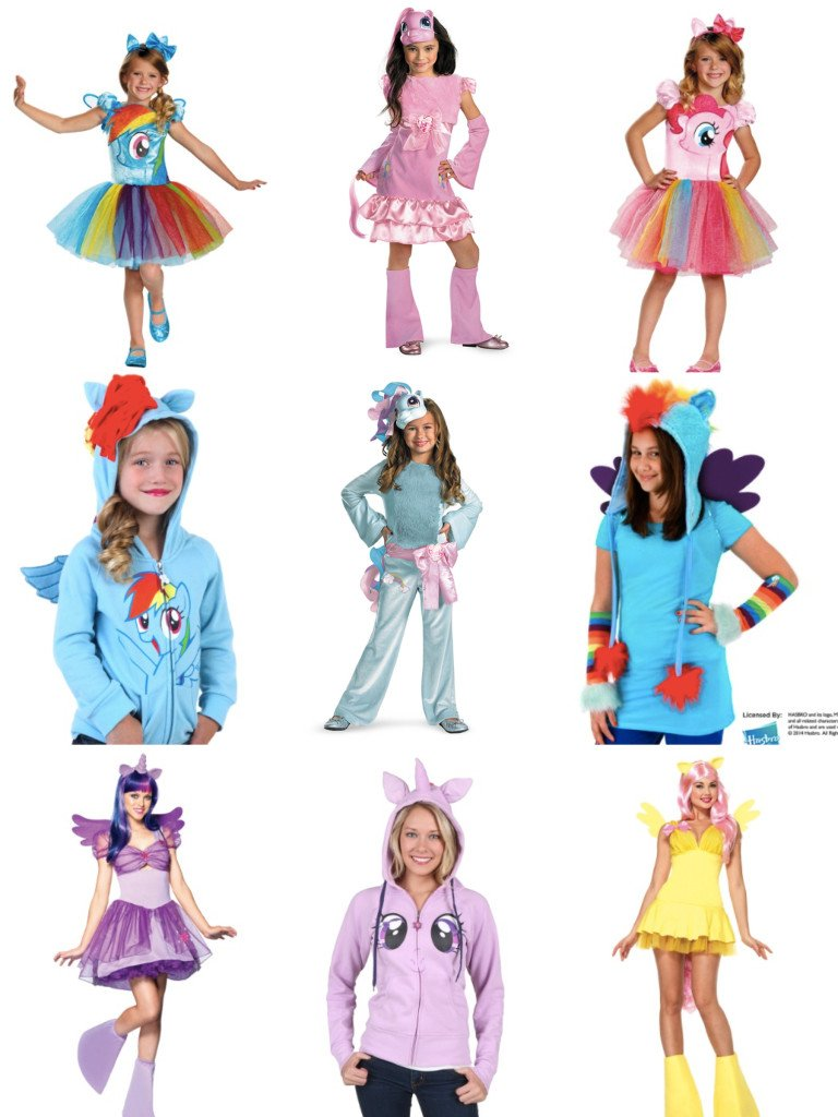 My Little Pony Mommy and Me Matching Costumes