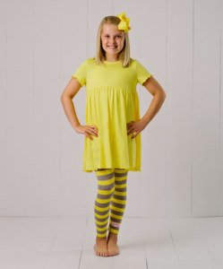 Yellow_Ruffle_Leggings_Set - Infant_Toddler_Girl