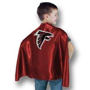 Atlanta Falcons Youth Sports Team Hero Cape