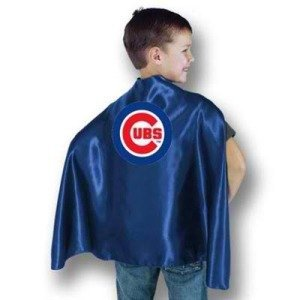 Chicago Cubs Youth Sports Team Hero Capes