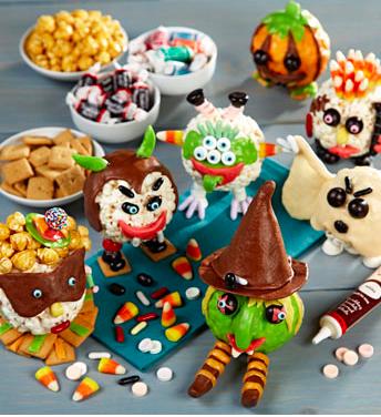 Halloween Popcorn Ball Decorating Kit, Mommy, Daddy & Me Family Halloween Festivities & Activities