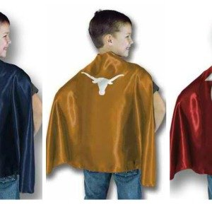 Youth Size Sports Team Hero Capes