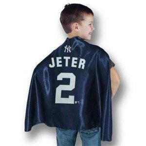 jeter superhero cape, sports team hero capes
