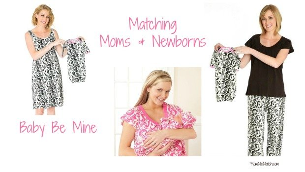 Baby Be Mine Matching Nursing Mom and Newborn Outfits  18c421145fe2