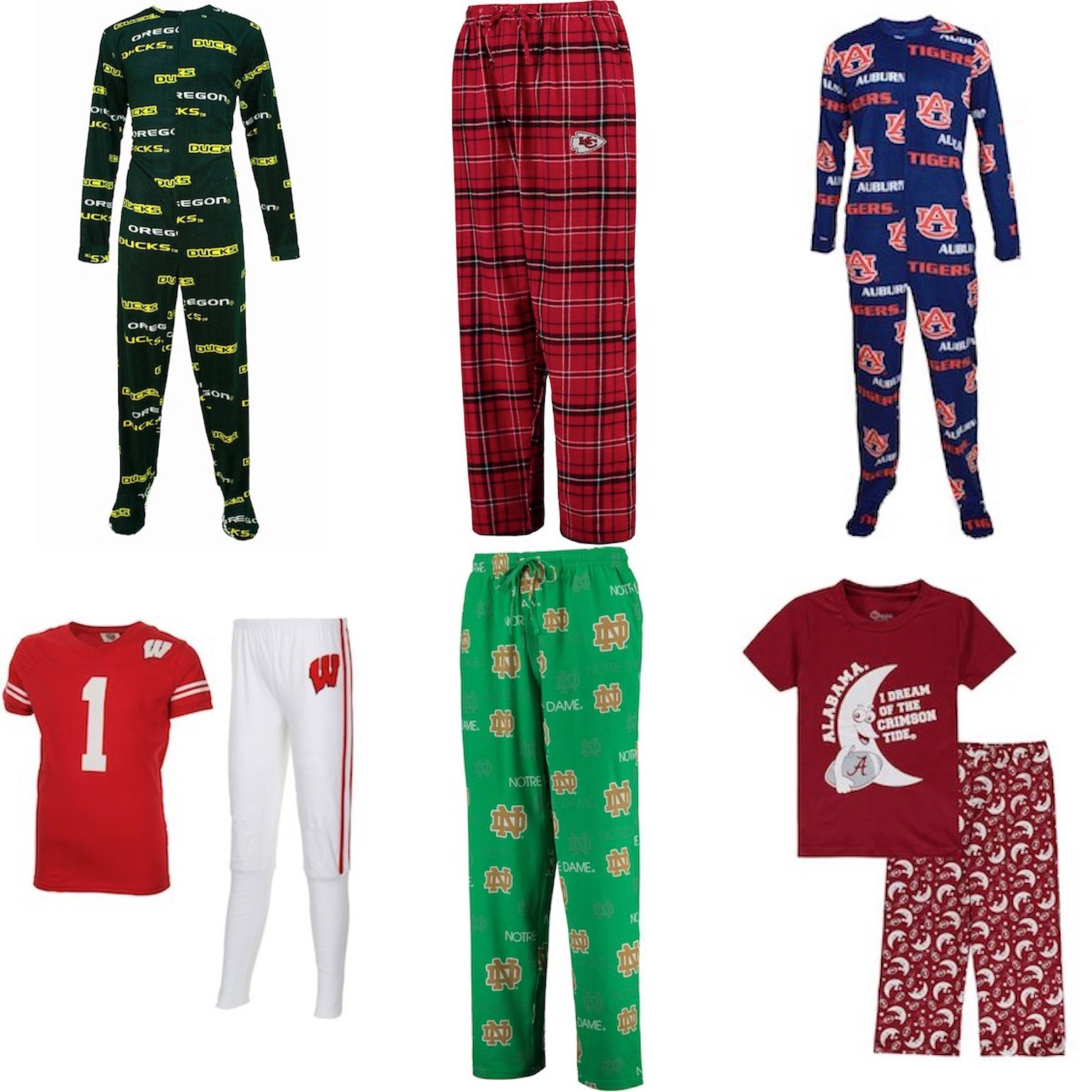 Sports Team Family Pajamas for Women, Men & Kids