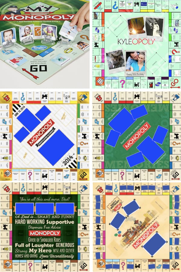 Customized Monopoly Games