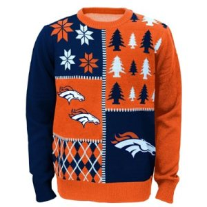 Denver Broncos Youth Ugly Sweater