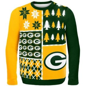 Green Bay Packers Busy Block Ugly Sweater