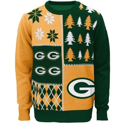 Green Bay Packers Youth Ugly Sweater