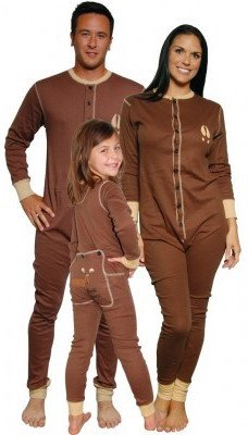 Moose Caboose Flapjacks Family Matching Long John