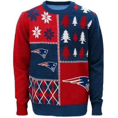 New England Patriots Youth Ugly Sweater