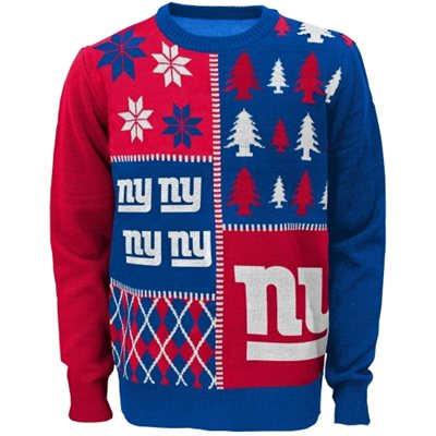 New York Giants Youth Ugly Sweater