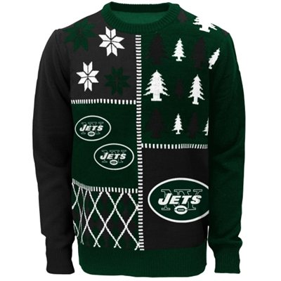 New York Jets Youth Ugly Sweater